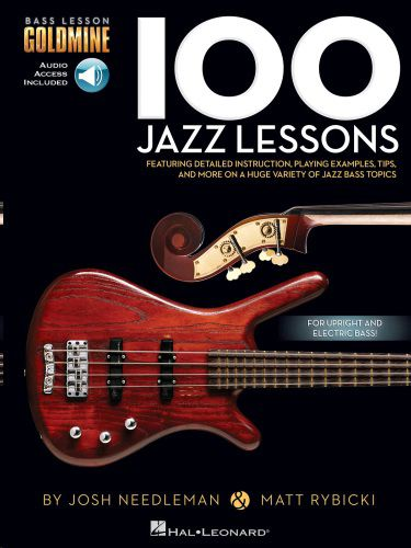 100 Jazz Lessons for Bass Guitar Audio Access Included