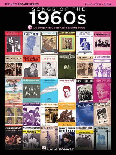 Songs of the 1960s Piano/Vocal/Guitar Online Audio