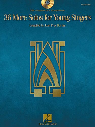 36 More Solos for Young Singers BK/CD