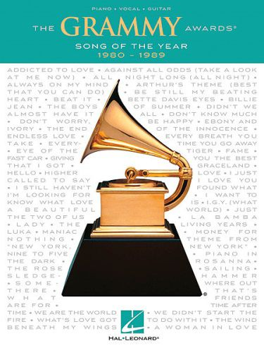 Grammy Awards Song of the Year 1980-1989 PVG
