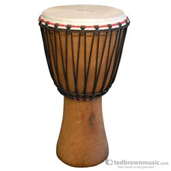 Tycoon Djembe African Mango Wood Rope Tuned 00755765