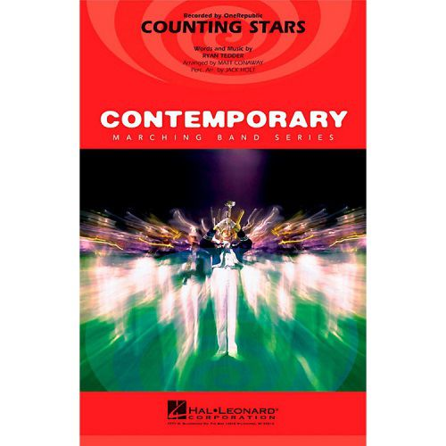 Counting Stars (Marching Band) Score & Pa
