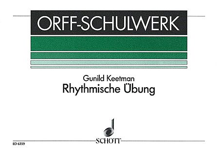 Rhythmische Ubung (Rhythmic Exercises) Percussion