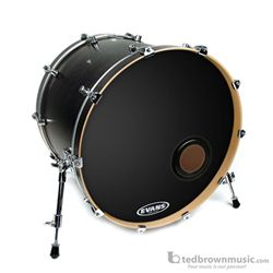 Bass Drum Head Evans EMAD Resonant Black