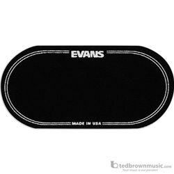 Evans Percussion Patch Black Nylon 2-Pedal EQPB2