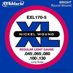 D'Addario Strings Bass 5 String EXL170-5