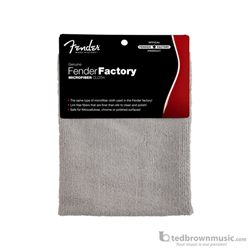 Fender Polish Cloth Genuine Factory Shop Microfiber 0990523000