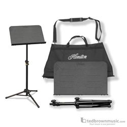 Hamilton KB90 Portable Traveller II Music Stand with Bag