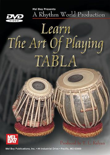 Learn The Art of Playing Tabla  DVD