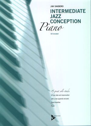 Intermediate Jazz Conception  Piano Book/CD