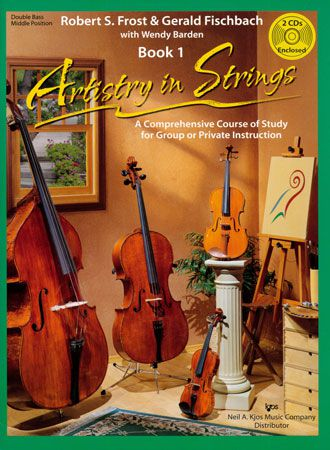ARTISTRY IN STRINGS, BK 1-SB-MDL/BOOK & CDS ARTISTRY S