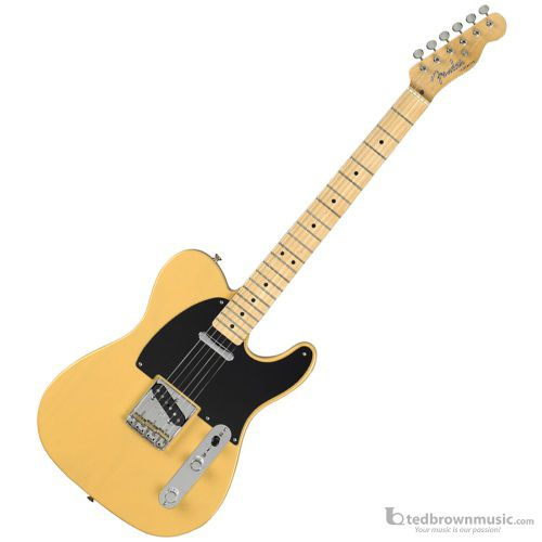 Fender Baja Telecaster Classic Player Series Electric Guitar with Maple Fretboard