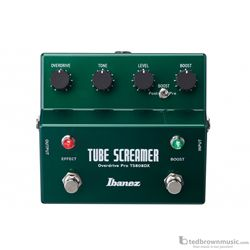 Ibanez TS808DX Deluxe Vintage Tube Screamer Effect Pedal