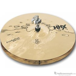 "Sabian 11402XEB 14"" Hi Hats HHX Evolution Series Cymbal"
