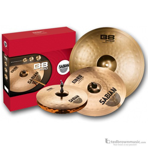 Sabian 35003B B8 Series Performance Set Cymbal Pack