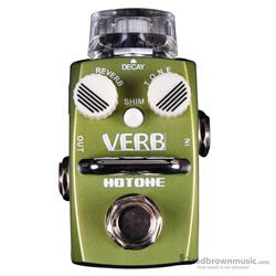 Hotone Verb Digital Reverb Skyine Series Effect Pedal