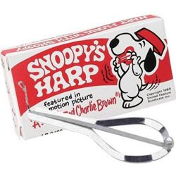 Trophy Jaw Harp Snoopy 3490