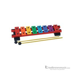 Rhythm Band Bell Set 8 Note Diatonic Colored RB2305