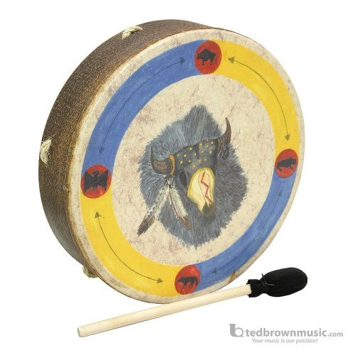 Remo E1-0314-10 Buffalo Drum with Graphic