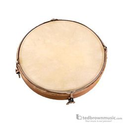 "Studio 49 RT300 12"" Tunable Natural Skin Frame Drum"