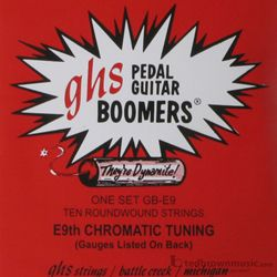 GHS GB-E9 Pedal Boomers Steel Guitar Strings 13-36