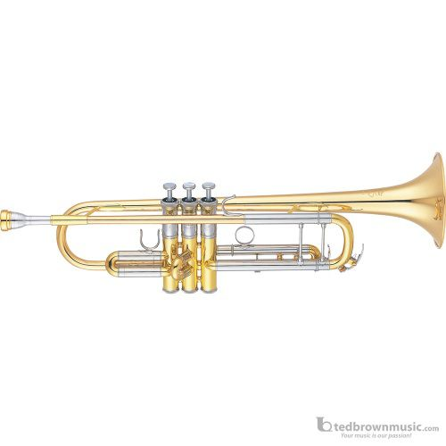 Yamaha YTR8335GS Xeno Series Bb Trumpet with Silver Gold Brass Bell