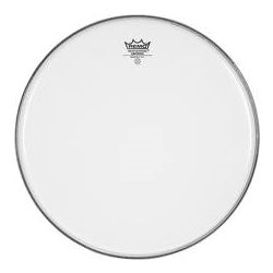 Bass Drum Head Remo Clear Powerstroke 3 White Falam Patch