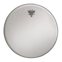 Marching Snare Drum Head Remo Falams 2 Batter Smooth White Crimped