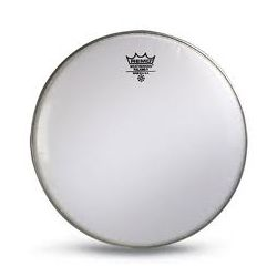 Marching Snare Drum Head Remo Falams 2 Smooth White Snare Side