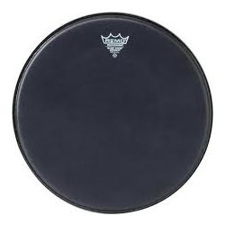 Drum Head Remo Black Suede Emperor