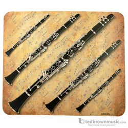 Aim Gifts Mouse Pad Clarinet & Sheet Music 40033