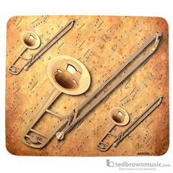 Aim Gifts Mouse Pad Trombone & Sheet Music 40037