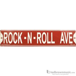 Aim Gifts Street Sign Rock N Roll Ave SS76