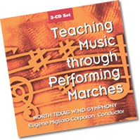Teaching Music Through Marches CD Set