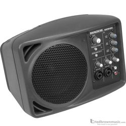 "Mackie SRM150 5.25"" 150 Watt Active PA Speaker with 3-Channel Mixer"
