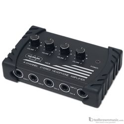 CAD HA4 4-Channel Compact Stereo Headphone Amplifier