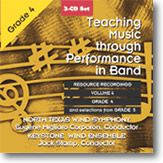 Teaching Music Through Performance In Band #4 CD Set Grades 4-5