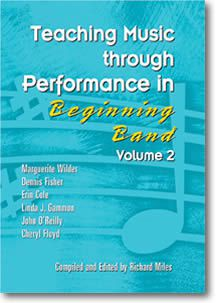 Teaching Music Through Performance In Beginning Band #2 Book