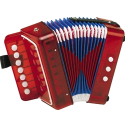 Hohner Accordion Woodstock Red