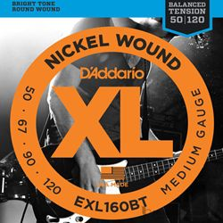 D'Addario Strings Bass Balanced Tension Medium EXL120BT