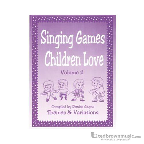 Singing Games Children Love #2 Bk/Cd
