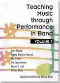 Teaching Music Through Performance in Band Volume 9 Grades 4-5 Hardcover