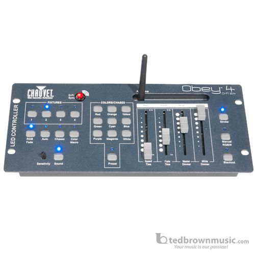 Chauvet DJ OBEY 4D-Fi 2.4 Lighting Controller