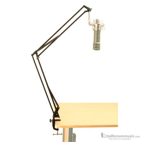 On-Stage Desk Mount Articulating Microphone Boom MBS5500