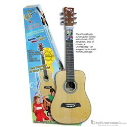 ChordBuddy 1/2 Size Acoustic Guitar with Tuner Songbook & DVD