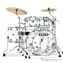 Tama VC52KRZSCI Silverstar Mirage 4 Piece Shell Kit Acoustic Set with Free Snare Drum