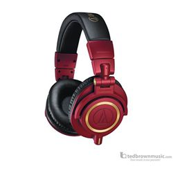 Audio Technica ATH-M50XRD Professional Monitor Headphones Red Gold
