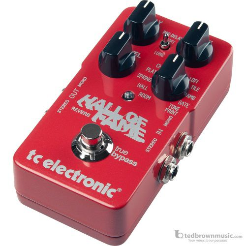 TC Electronics Hall of Fame Reverb Effect Pedal