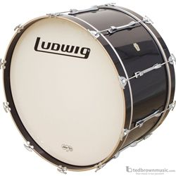 Ludwig Bass Drum Concert Smooth Wrap Finish