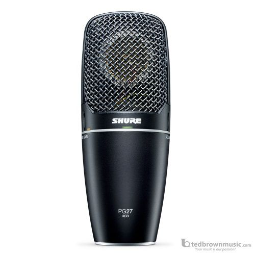 Shure PG27-USB Cadioid Condenser Vocal USB Microphone